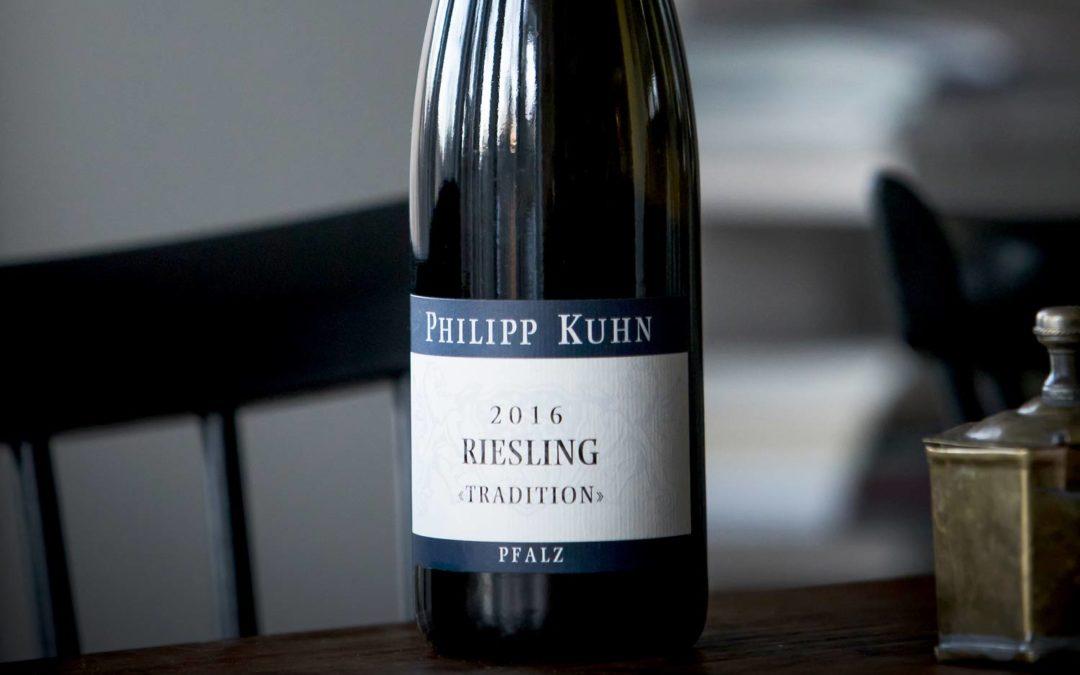 Generös tysk Riesling från hyllad producent i Pfalz