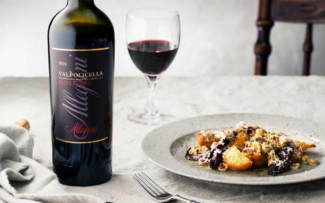 Italienskt med vin från familjen Allegrini