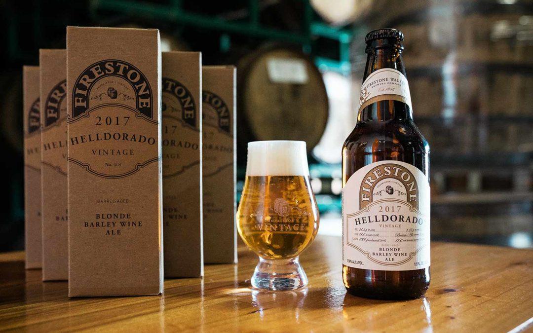 Mästare med fokus på fatlagrat hantverks-öl