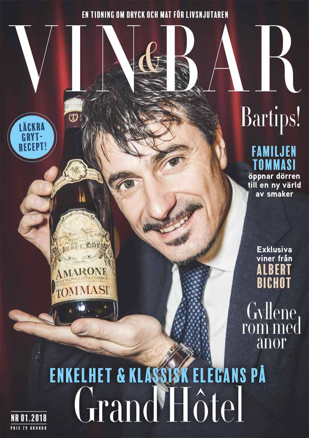Vin och Bar tidning 2018 nummer 1