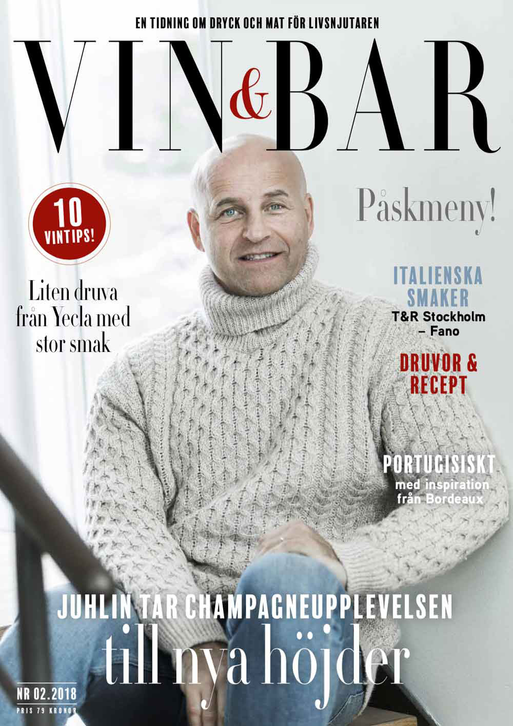 Vin och Bar tidning 2018 nummer 2