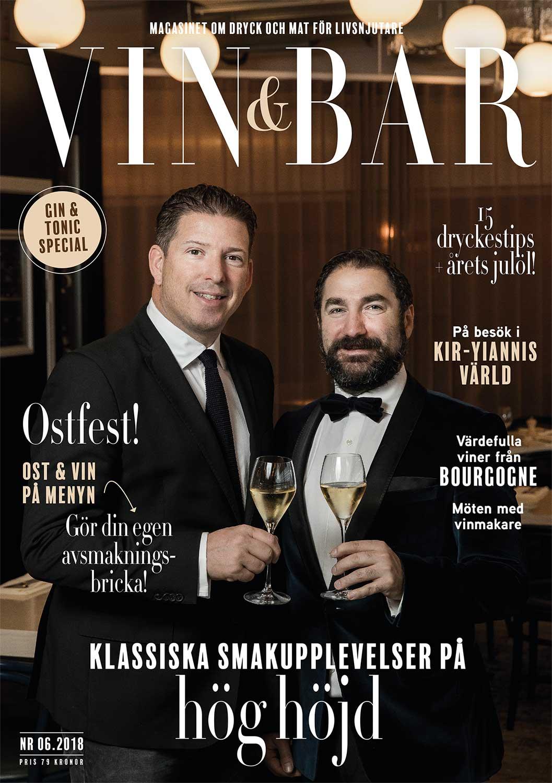 Vin och Bar tidning 2018 nummer 6