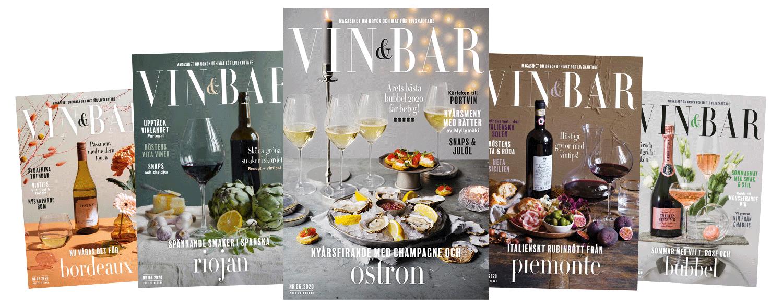 Prenumerera på Vin och Bar magasin